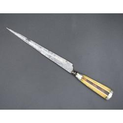 Coltello Genovese Stiletto cuchillo genovés o italiano siglo