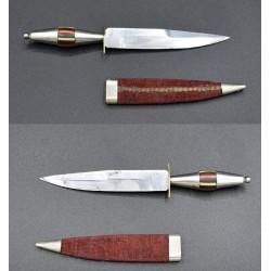 Cuchillo miniatura Álvaro García Albacete siglo XIX - XX