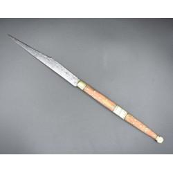 Navaja francesa siglo XIX tipo puñal GAr' FYRIAS A THIERS