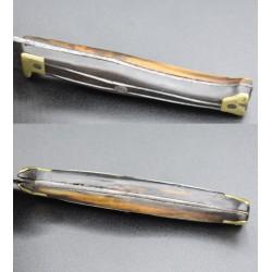 Cuchillo de zapatito - Vivan los valientes- Arriero siglo XIX