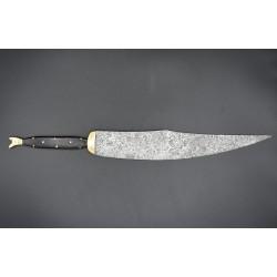 Gran Cuchillo de faja o arriero con zapatito tipo sastaguino s.