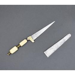 Cuchillo miniatura de hoja secreta cortaplumas albaceteño
