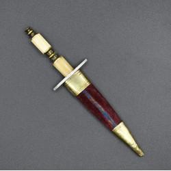 Pequeño puñal de Albacete siglo XIX para mujer de honor