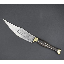 Cuchillo de zapatito aragonés siglo XIX Servirte es mi deber