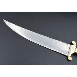 Cuchillo antiguo marca LISO de Sástago Zaragoza