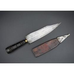 Cuchillo de montería antiguo Bowie