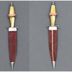 Cuchillo miniatura de Albacete mango celuloide
