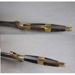 Cuchillo antiguo de Sástago o sastaguino español original siglo