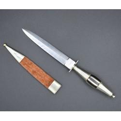 Cuchillo de Albacete con funda doble filo