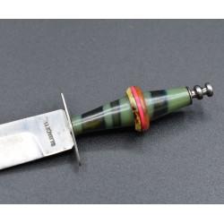Cuchillo miniatura de Albacete con celuloide