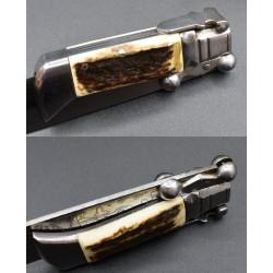 Cuchillo Plegable Julián Galvan Grabado Diana Cazadora TOLEDO
