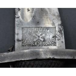 Machete Tropa de Artillería modelo 1907 Fabrica de Toledo