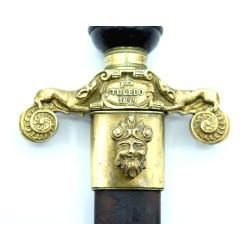 Bayoneta de taco Fabrica de Toledo 1859 hoja de daga