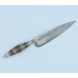 Antiguo Cuchillo Canario datado 1876 Naife