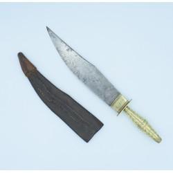 Gran Cuchillo aragonés de montería del siglo XIX