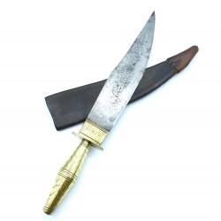 Gran Cuchillo andaluz de montería del siglo XIX