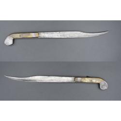 Belduque Cuchillo antiguo español de combate