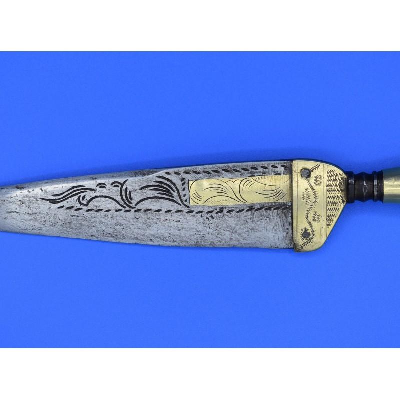 cuchillo andaluz siglo XVIII