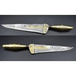 Cuchillo antiguo siglo XVII - XVIII Barroco Español
