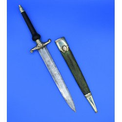 Bayoneta de Taco espada de Arcabuz siglo XVIII estilo Carlos IV