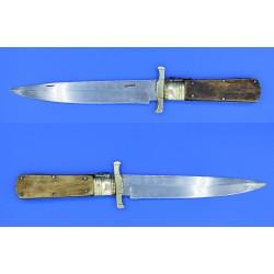 Cuchillo plegable de albacete asta de ciervo