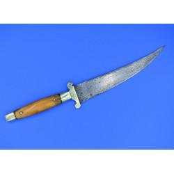 Cuchillo sastaguino mango de hueso original de Sástago