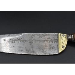 Cuchillo antiguo español Soy De Mi Dueño siglo XVIII