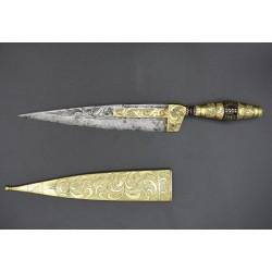 Cuchillo de faja malagueño Barroco siglo XVIII