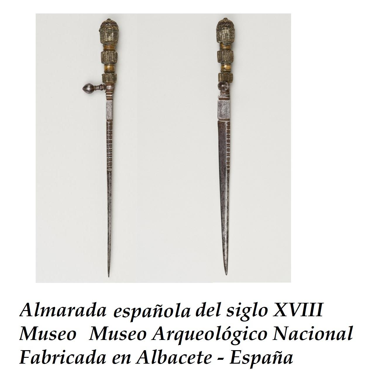 almarada española antigua