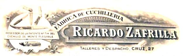 RICARDO ZAFRILLA PATENTADO REGISTRADO