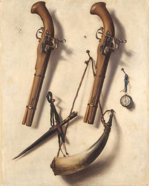 almarada pintura cuadro siglo XVIII