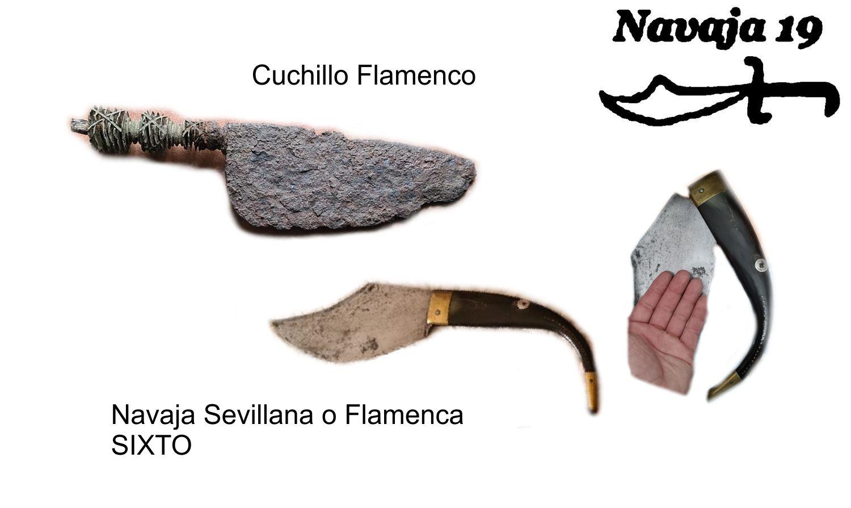 cuchillo y navaja flamenca