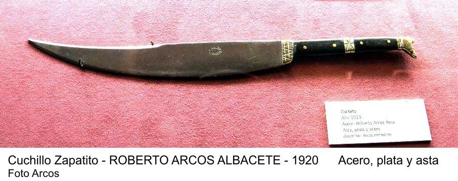 Cuchillo zapatito Arcos Albacete 1920