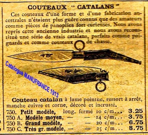 cuchillo catalan