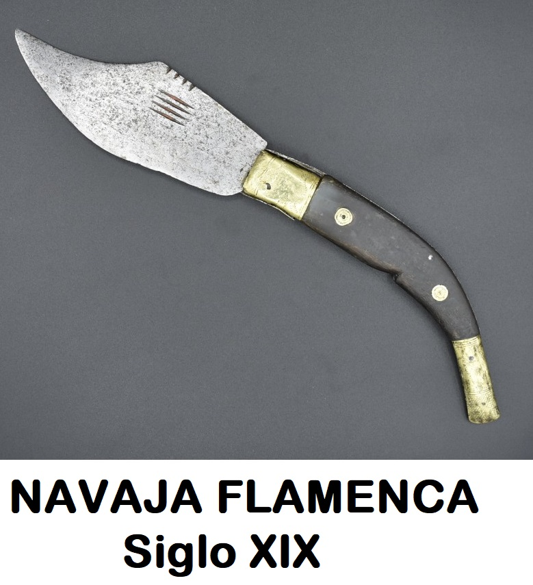 Navaja Fleamenca capaora