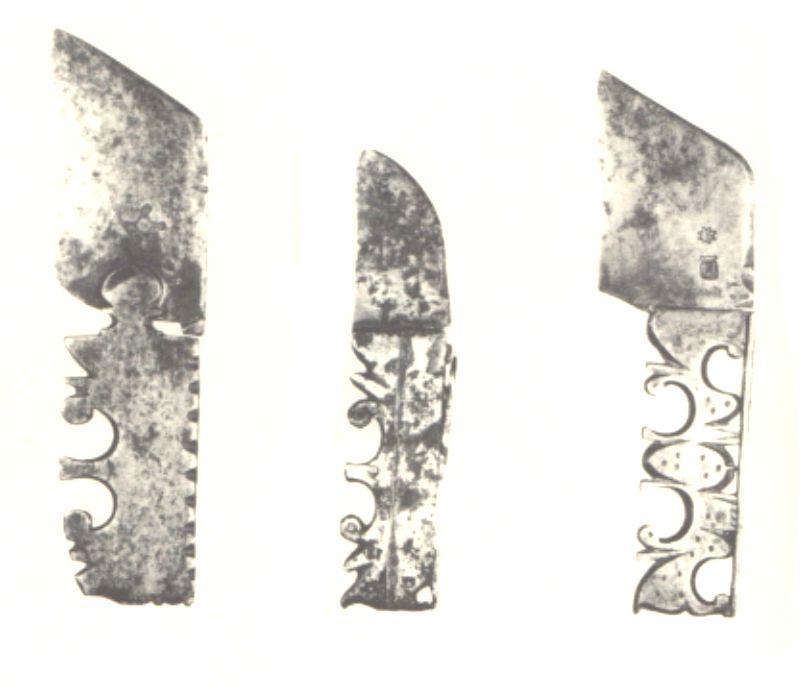 cortaplumas españoles siglo XVII