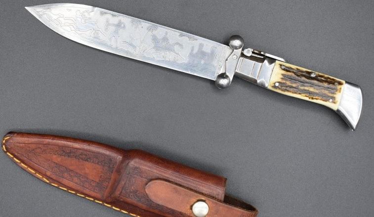 cuchillo caza Julian Galvan con Diana