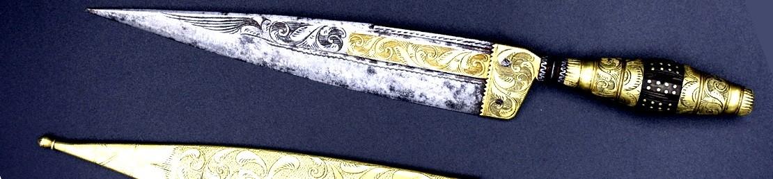 Cuchillo de Faja decorado